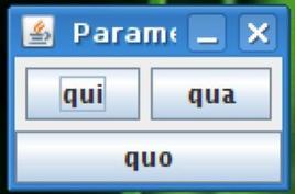 Figura 1. La finestra che si ottiene eseguendo il codice di lato.