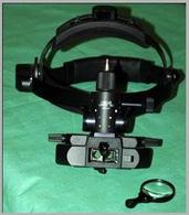 Oftalmoscopio diretto binoculare.