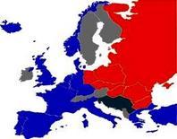 """L'Europa e la """"cortina di ferro"""""""