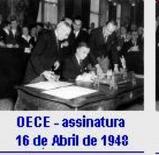 La firma dei patti del 16 aprile 1948