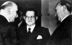 Adenauer, De Gasperi, Schumann