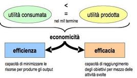 Efficienza, efficacia ed economicità