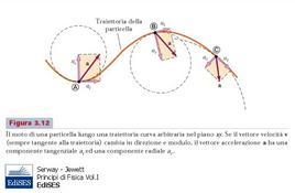 Figura 2.14: Componenti del vettore accelerazione.