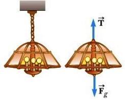 Figura 4.3. Esempio di reazione vincolare (immagine tratta dal Serway)