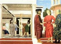 Piero della Francesca, Flagellazione, 1450-1460