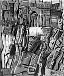 Mario Sironi, La città, 1954