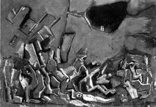 Mario Sironi, Apocalisse, 1961