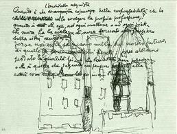 Giovanni Michelucci, Disegno e appunti, 1989