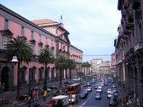 Piazza Museo Nazionale a Napoli