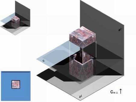 Operazioni geometriche per la determinazione della pianta propriamente detta di un parallelepipedo