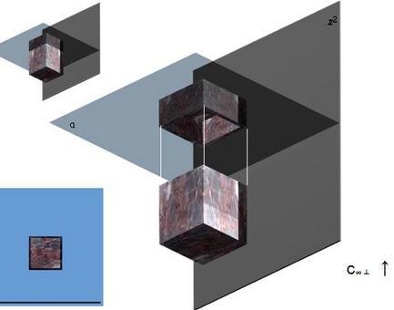 Operazioni geometriche per la determinazione della ipografia di un parallelepipedo