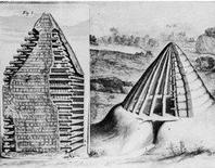 Philibert de l'Orme, L'Architecture, La capanna primitiva, 1567