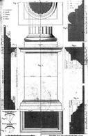 Boidi G., Piedistallo dell'ordine dorico, 1876