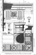 Boidi G., Trabeazione dell'ordine dorico, 1876