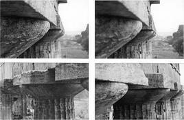 I capitelli del tempio di Nettuno a Paestum