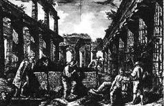 Piranesi G., Différentes vues…, Frontespizio, 1777