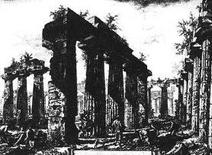 Fonte: Piranesi G., Différentes vues, Tav. V, 1777
