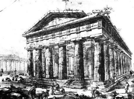Piranesi G., Disegni preparatori per Différentes vues…, 1777