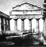 Hansen C., Il tempio di Nettuno, 1839