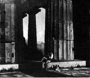 Hansen C., Il tempio di Cecere, 1838