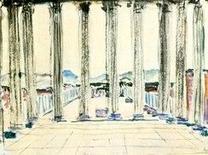 Le Corbusier, Tempio di Giove a Pompei, 1911
