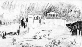 Le Corbusier, Acropoli di Atene, n. 3-123, 1910