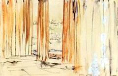 Le Corbusier, Scorcio del Partenone, 1911