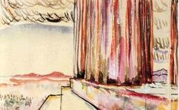 Le Corbusier, Scorcio nord-ovest del Partenone, 1911