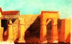 Louis I. Kahn, Luxor, Egitto, 1951