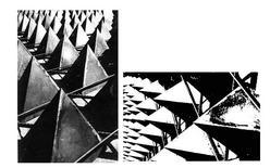 Louis I. Kahn, Yale University Art Gallery, casseforme dei tetraedri di copertura,1952
