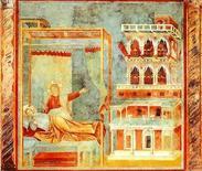Giotto, Sogno del Palazzo e delle armi, 1304