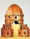 F. Brunelleschi, Modello ligneo della cupola del duomo di Firenze