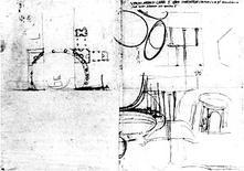 D. Bramante, Studi per la pianta dell'area della cupola, Roma 1505-14