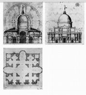 Riniero da Pisa, Progetto per edificio a pianta centrale per S. Giovanni dei Fiorentini