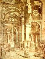 Bernardo Prevedari, Interno di un Tempio, 1481