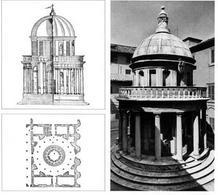 Donato Bramante, Tempietto di San Pietro in Montorio, Roma 1502 ca