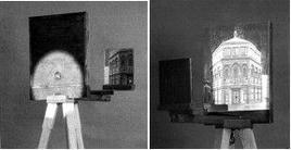 Il dispositivo brunelleschiano della tavoletta del Battistero