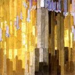 František Kupka, Ordonnance sur verticalesen jaune, 1913