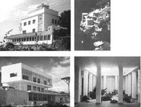 L. Cosenza, Villa Savarese, Villa a Positano, Villa Ferri, Villa Cernia