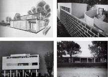 Figini e Pollini, Casa Elettrica, Villa per artista, Casa al Villaggio dei giornalisti, Asilo nido