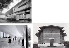 Gardella, Dispensario Antitubercolare, Galleria d'arte contemporanea, Chiesa di S. Enrico