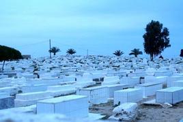Nel 1920 su 5784 decessi avvenuti nella città di Tunisi, 74 sono attribuibili al vaiolo, 1 alla difterite, 61 alla febbre tifoide, 24 al tifo esantematico, 550 al morbillo, 2 alla scarlattina, 715 alla tubercolosi, 37 alla malaria, e 81 alla malaria. Foto di Domenico Fulgione.
