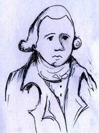 Jean-Baptiste de Lamarck (Bazentin-le-Petit, 1 agosto 1744 – Parigi, 18 dicembre 1829). Disegno di Domenico Fulgione.