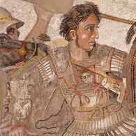 Alexander the Great, House of the Faun, Pompeii. (Image supplied by the author)