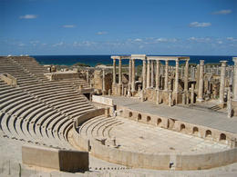 Leptis Magna Theatre. (Image supplied by the author)