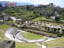 Roman Theatre in Minturno, Italy. (Image supplied by the author)