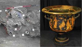 Archaeological relics from central Italy. (Image supplied by the author)