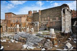 The Forum of Augustus. (Image supplied by the author)