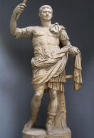 Domitian as Augustus. (Image supplied by the author)