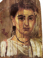 Fayum, Portrait of a boy. (Image supplied by the author)
